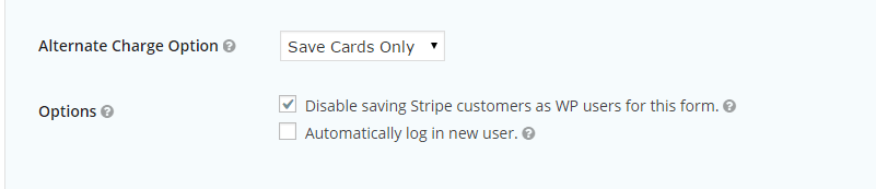 Alternative charge options in Gravity + (More) Stripe
